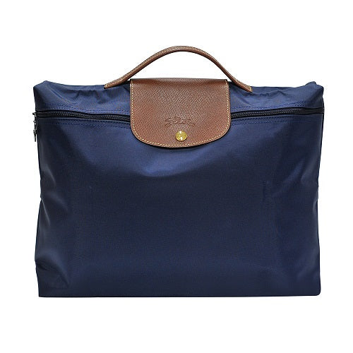 Navy Le Pliage Document Holder