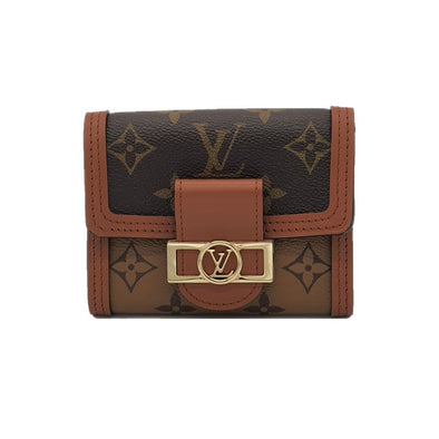 Monogram Canvas Dauphine Compact Wallet (Rented Out)