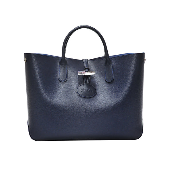 Navy Roseau Tote - 2 (Rent Out)