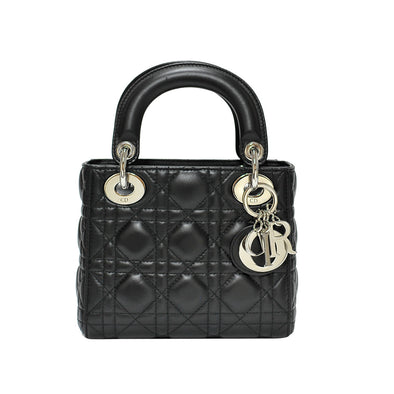 Black Mini Sac Lady Dior (Rented Out)
