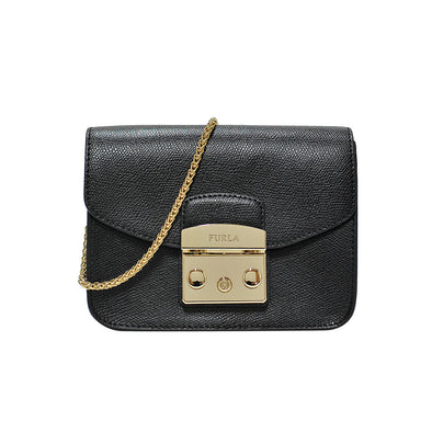 Onyx Mini Metropolis Crossbody Bag