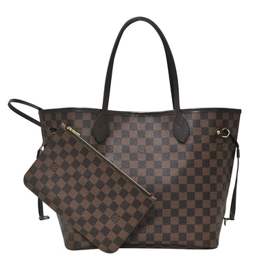 Damier Ebene Canvas Neverfull MM (Rented Out)