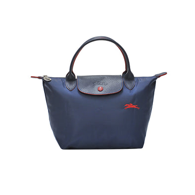 Navy Le Pliage Club Top Handle S