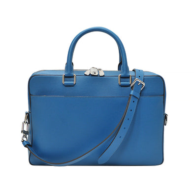 Blue Taiga Porte Documents Business Bag
