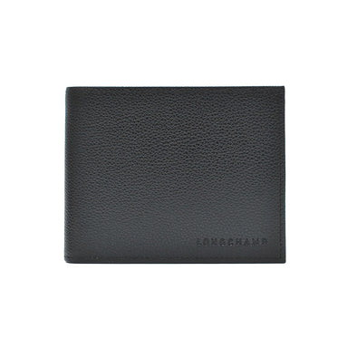 Noir Le Foulonne Bifold Wallet with Coin Pocket