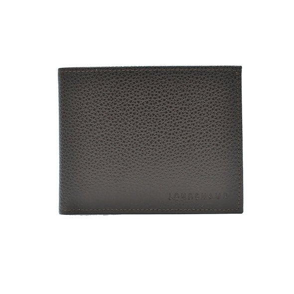 Mocha Le Foulonne Bifold Wallet with Coin Pocket
