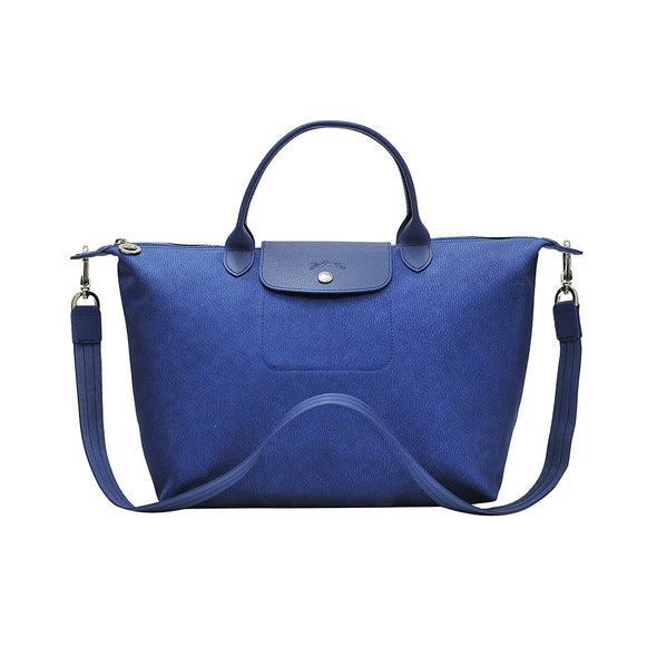 Denim Le Pliage Neo Jeans Medium Handbag