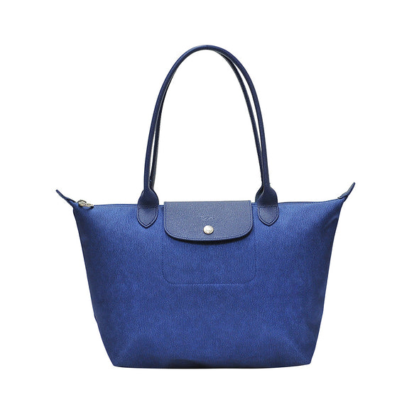 Denim Le Pliage Neo Jeans Medium Tote