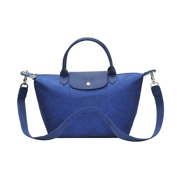 Denim Le Pliage Neo Jeans Small Handbag