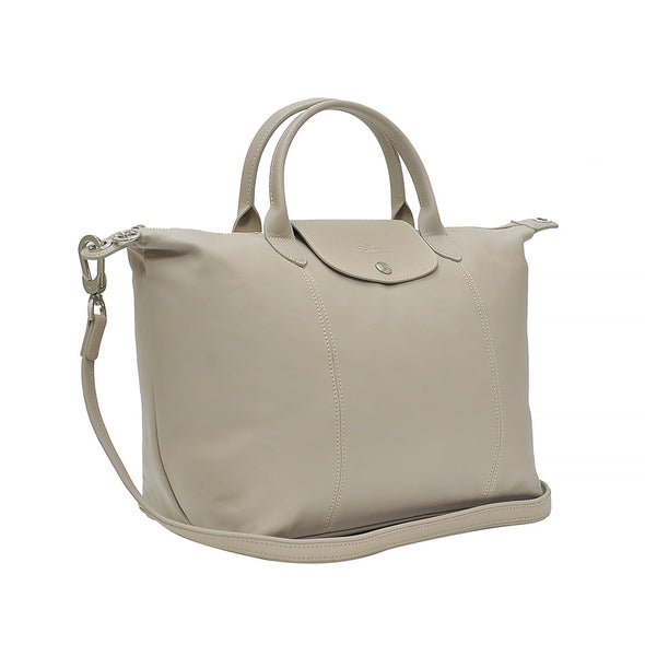 Argile Le Pliage Cuir Medium Shopping Tote