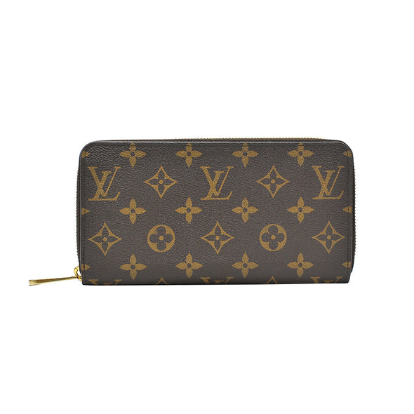 Brown Monogram Canvas Zippy Zip Around Wallet (Rented Out)