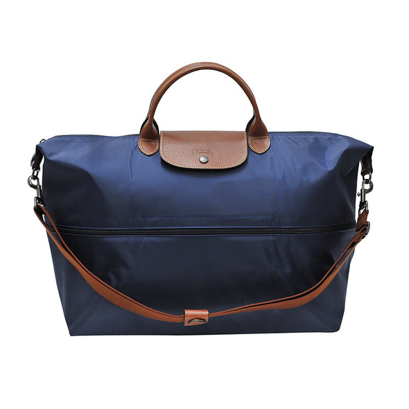Navy Le Pliage Classic Travel Bag (Expandable)