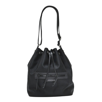 Black Le Pliage Neo Bucket Bag (Rented Out)