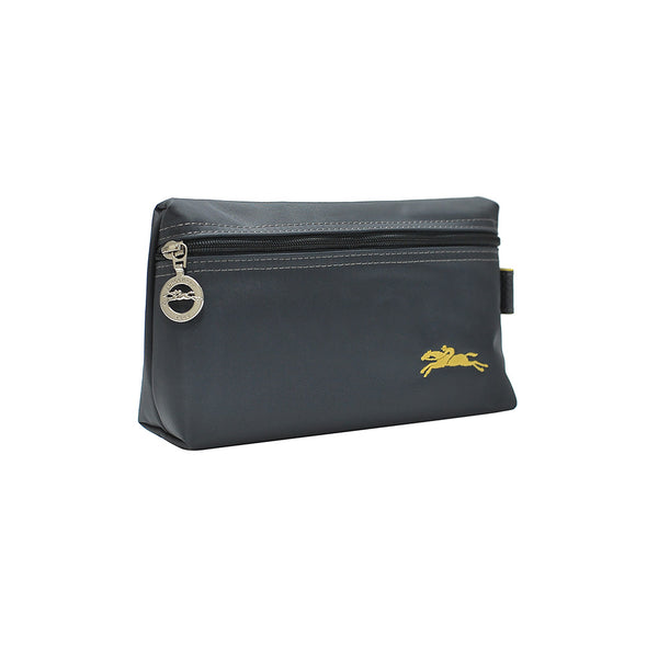 Gun Metal Le Pliage Club Pouch