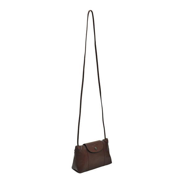 Copy of Brandy Le Pliage Cuir Crossbody Bag (Gunmetal Hardware) - 2
