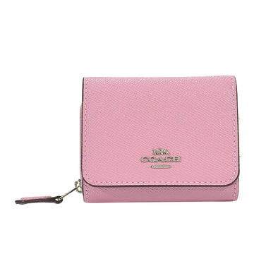 Tulip Leather Small Trifold Wallet