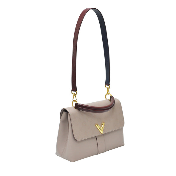 Beige Very One Handle Top Handle Bag (Rented Out)