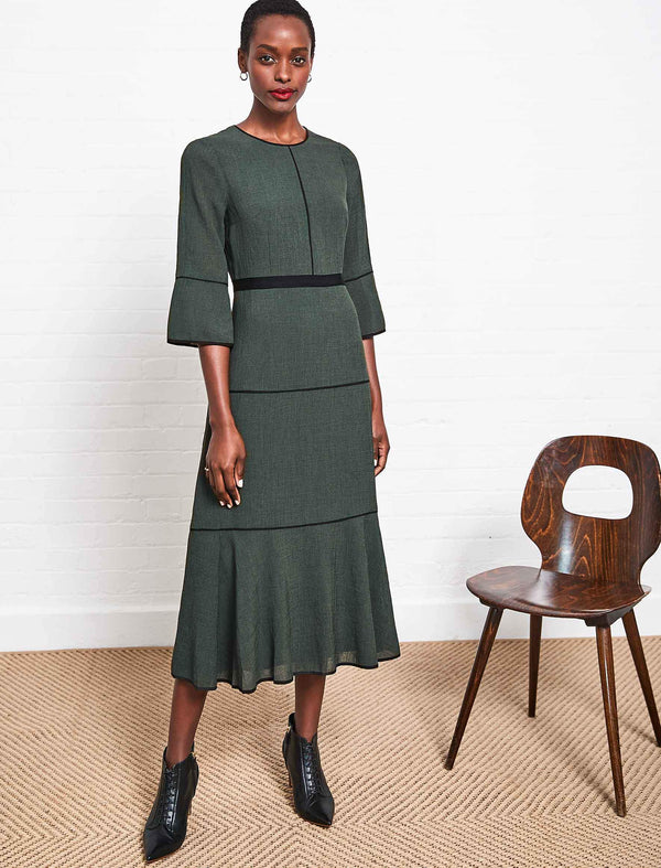 dark green dress uk