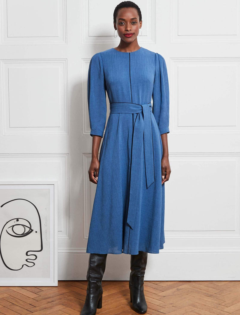 Cornflower Blue Maxi Dress