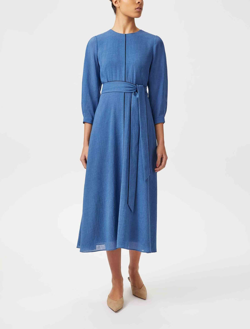 blue maxi dress uk