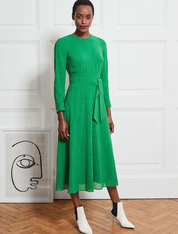 Zoe Maxi Dress - Emerald Green