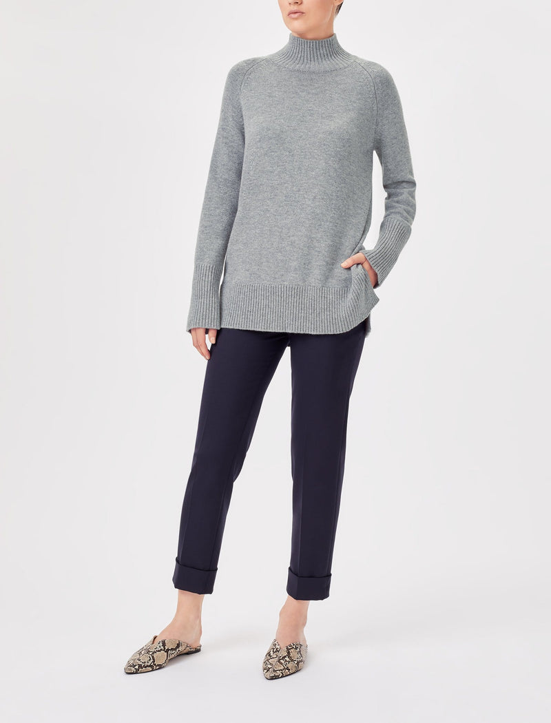 grey turtleneck jumpers