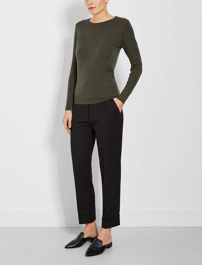 womens round neck jumpers