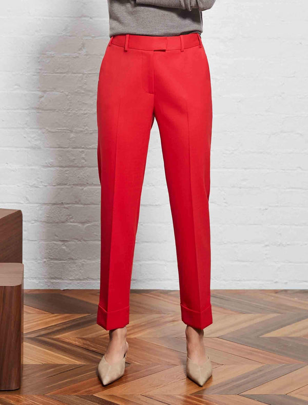turned up trousers for women