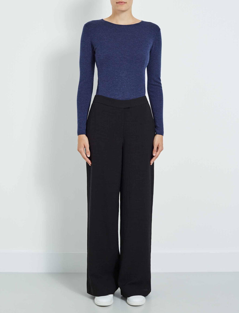 womens wide leg trousers