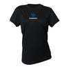 KUDAGRA Women's Black Performance Shirt