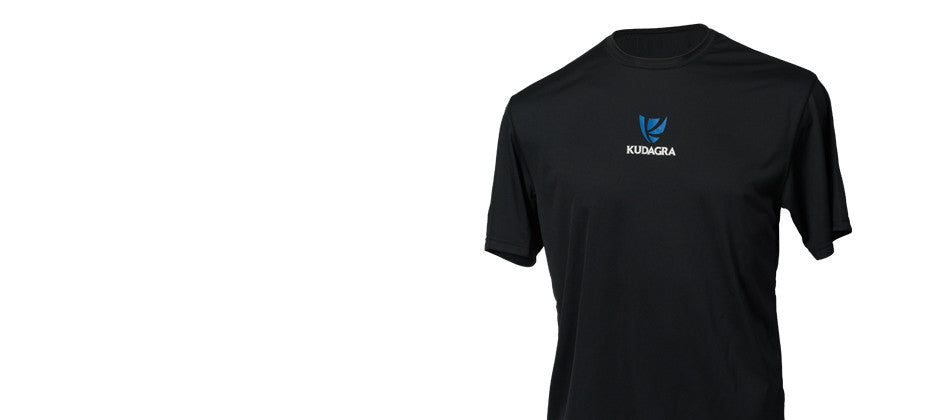 KUDAGRA<br>Men's Black Performance Shirt