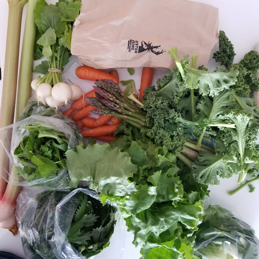 Local Farm Produce CSA Box - Friday Pick-Up