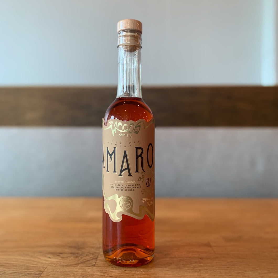 Wood's Distillery 'Barrel-Aged Amaro'