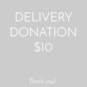 Delivery by Donation - $10