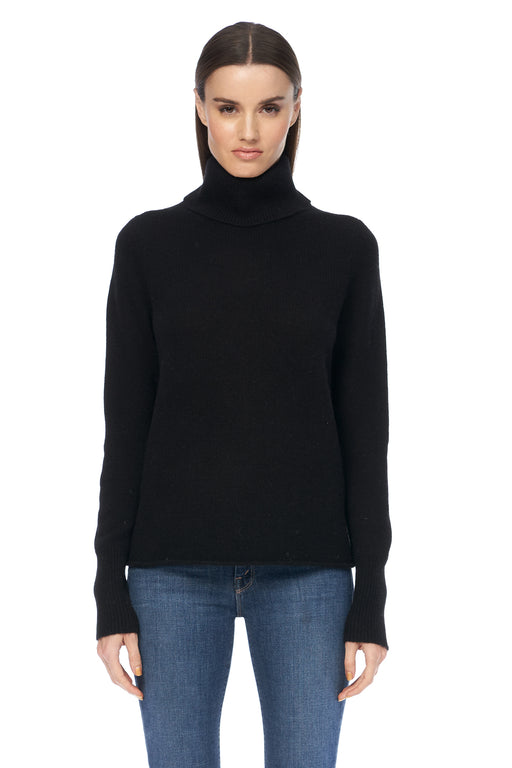 360-Cashmere-Poppi-Turtleneck-Black