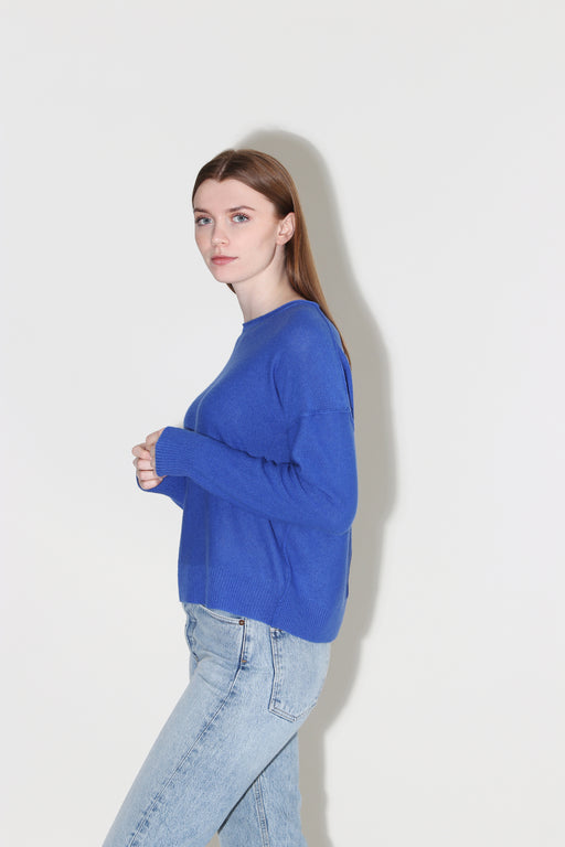 360 Cashmere Adelyn Pullover Sapphire
