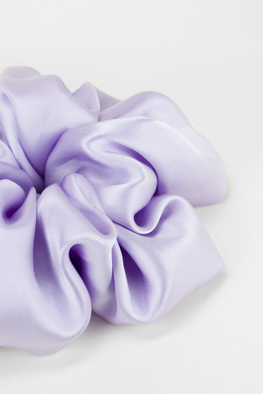 A-Bronze-Age-Oversized-Silk-Scrunchie-Lilac