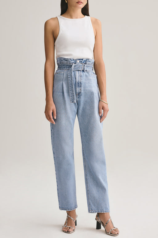 Reworked 90's High Rise Straight Jean