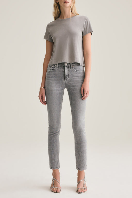 Toni Mid Rise Straight Fit Jean