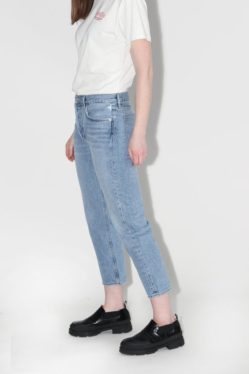 Agolde Parker Easy Straight Jean Blur