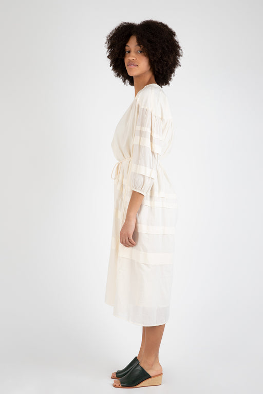 Apiece-Apart-Mari-Pintuck-Dress-Cream