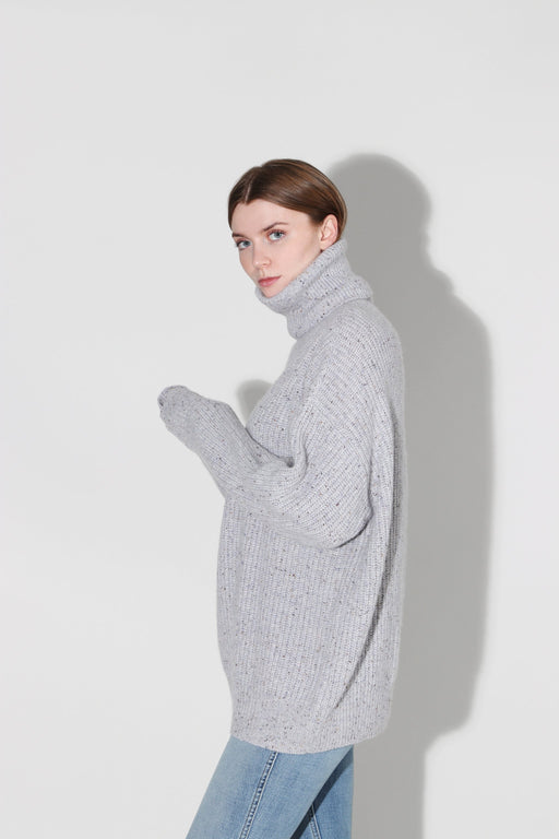 Autumn Cashmere Oversized Turtleneck Cinder