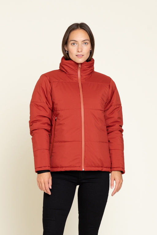 BARO STATION JACKET RED OXIDE