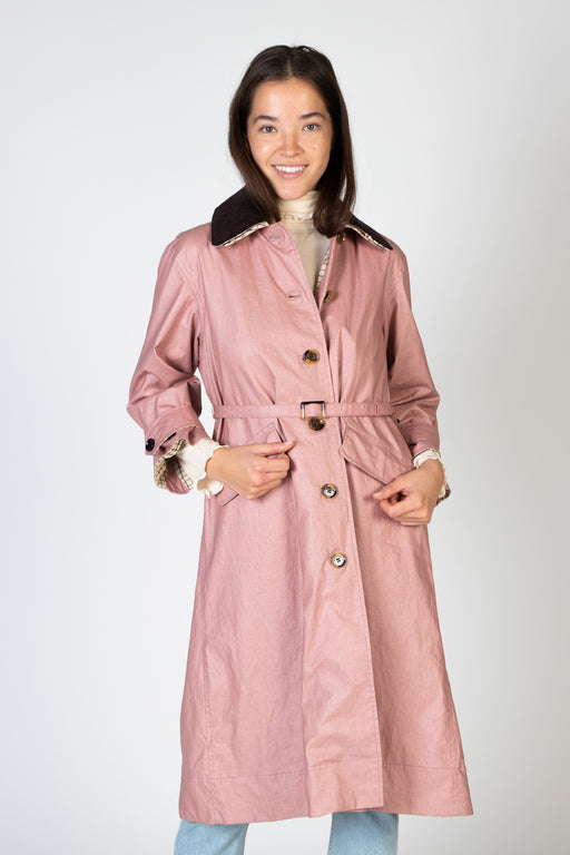 Barbour-Mildred-Coat-Nude-Pink