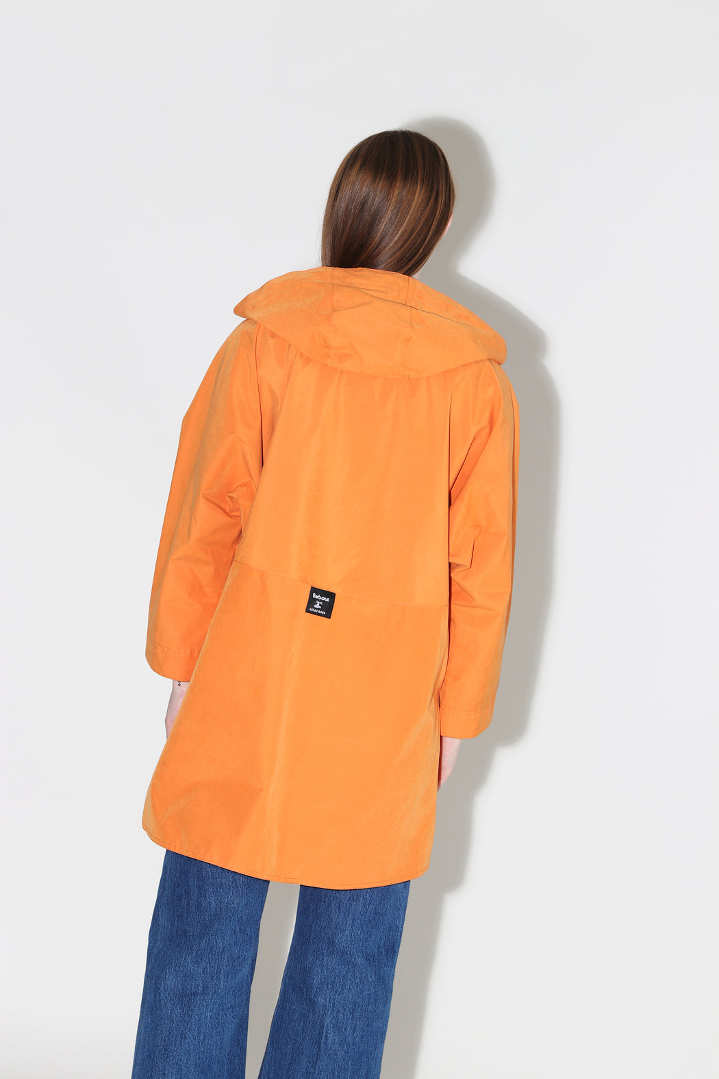 Barbour Alexa Chung Pip Waterproof Breathable Jacket Marigold