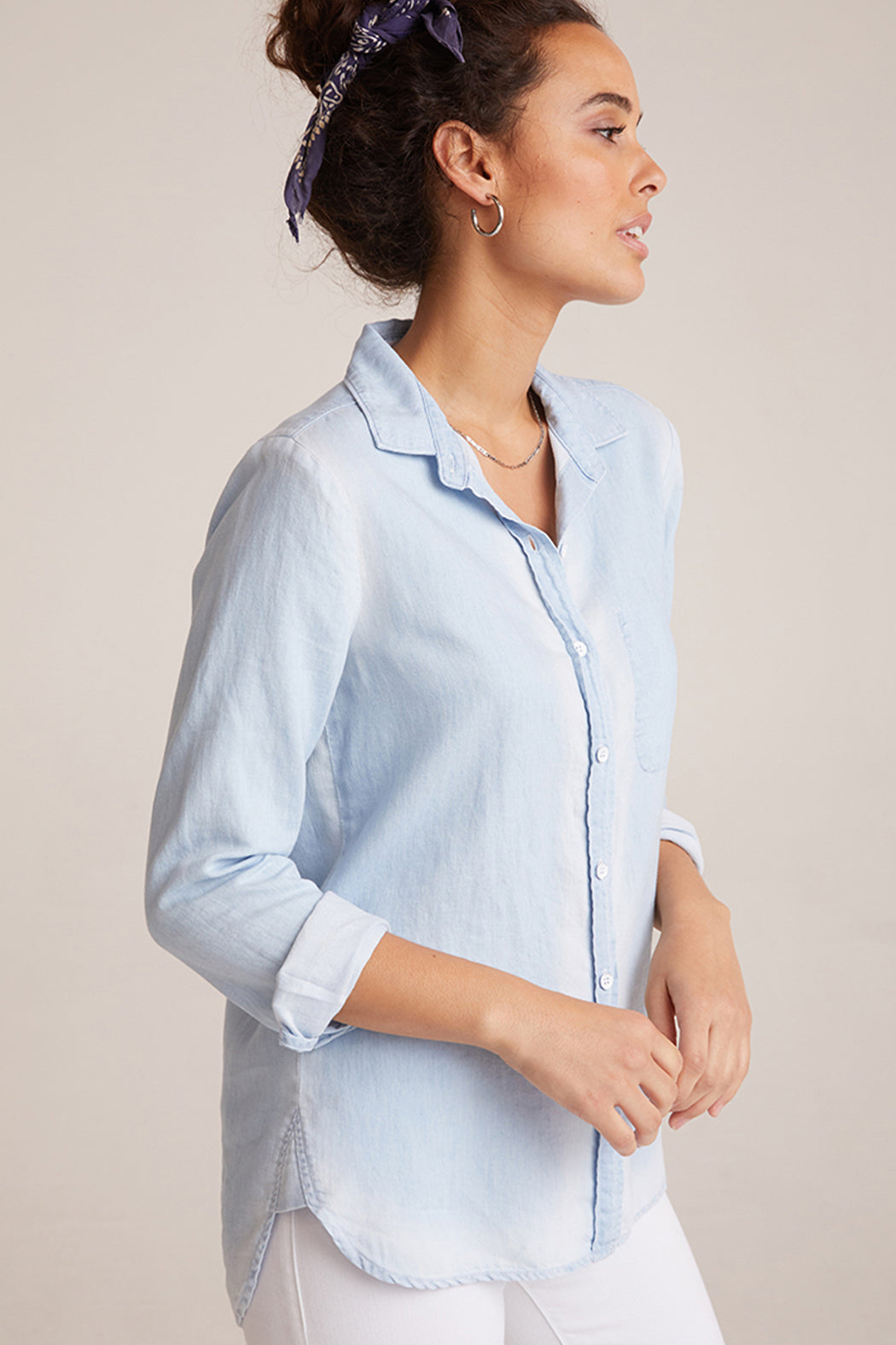 Bella Dahl Inside Pocket Button Down Sunseams Wash