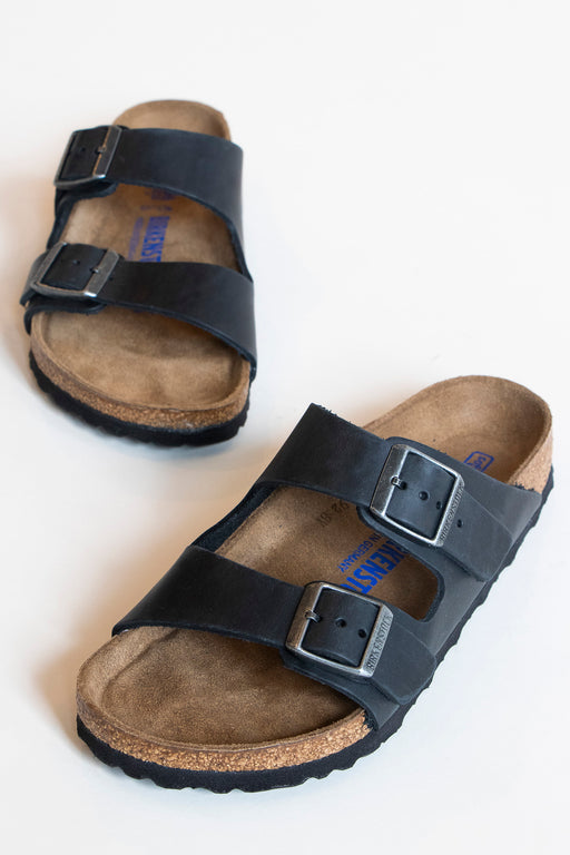 Birkenstock Arizona Soft Footbed Oiled Black