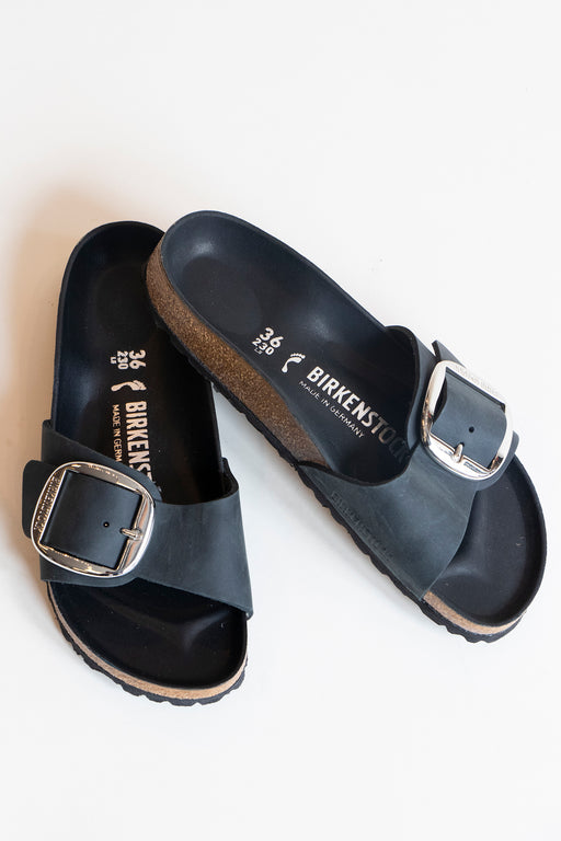 Birkenstock Madrid Big Buckle Sandal Black