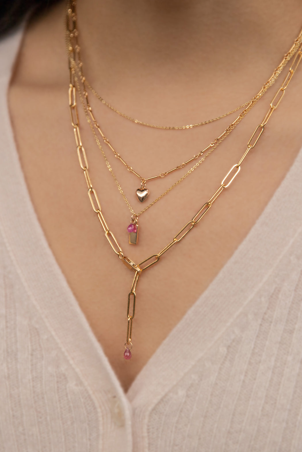 Blue-Ruby-Cause-We-Care-Bar-Chain-Heart-Necklace