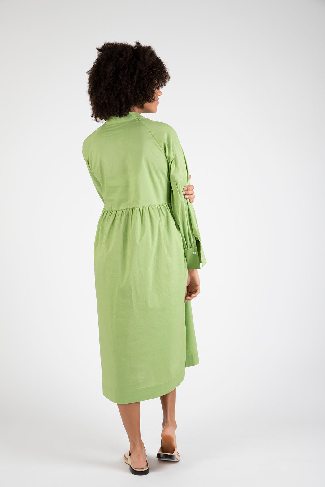 Bronze-Age-Cotton-House-Dress-Olive